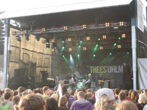 Thees Uhlmann und Band bei Floklore im Garten 2011