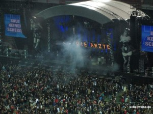 Konzert von &quot;Die rzte&quot; - kommen auf Tournee 2012