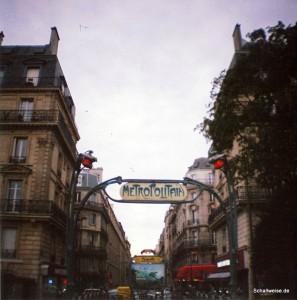 Eine Möglichkeit der Darstelung des Thees Uhlmann Songs: Paris im Herbst