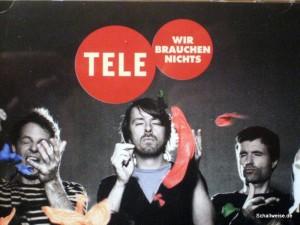 """CD-Cover des Albums """"Wir brauchen nichts"""" von Tele"""