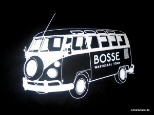 Merchandiseartikel von Bosse