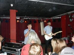 Konzert der Berliner Electro-Pop Band