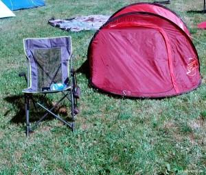 Vier Quadratmeter Ruhe und Frieden auf dem Festival - Das eigene Zelt